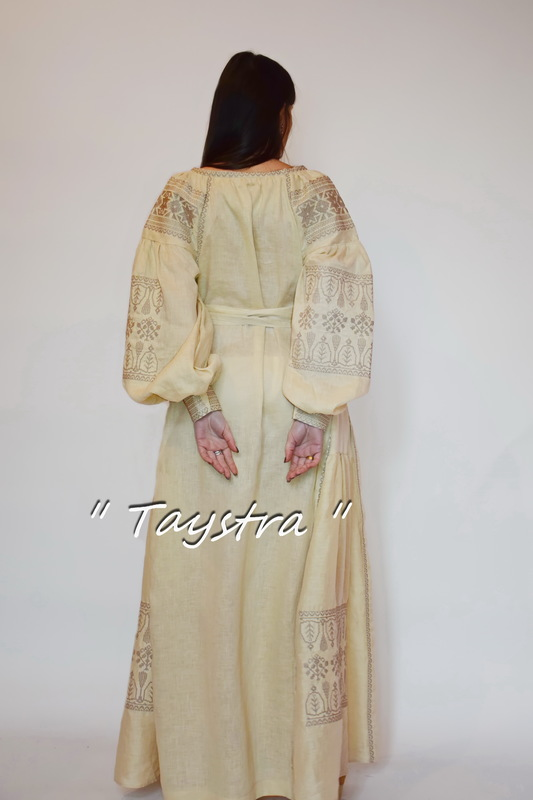 Embroidered Linen Dress Boho, Embroidered Dress, style boho chic, Vyshyvanka Dress Embroidery Linen, Ukrainian embroidery