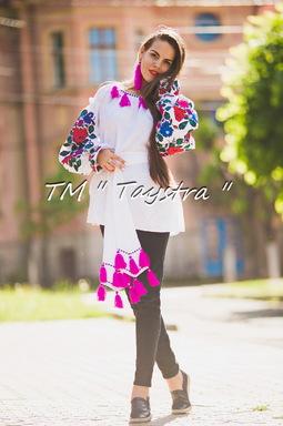 Vyshyvanka Embroidered White Blouse Linen Boho style, Bohemian, ethno,Ukrainian embroidery, Embroidered clothes Bohemian, ethno