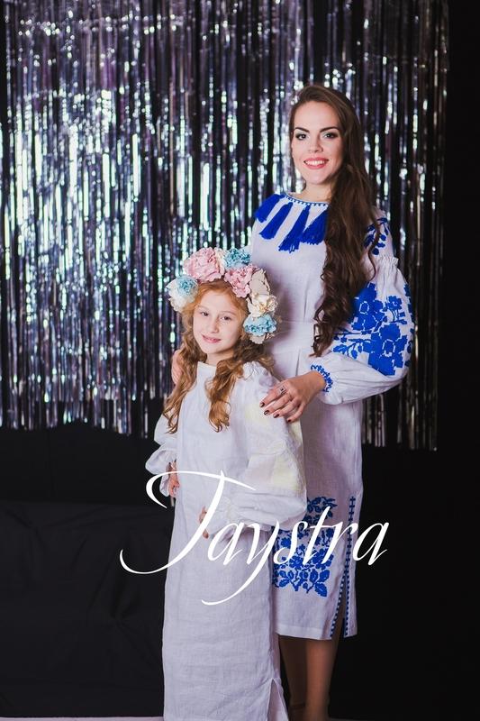 Embroidered Children's dress, vyshyvanka, boho, ethno style, Bohemian, Dress for a girl, vishivanka baby