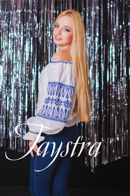 Blouse open shoulders,Ukrainian Embroidery Vyshyvanka,Blouse,White Blouse Linen Boho style, Embroidered clothes Bohemian, ethno