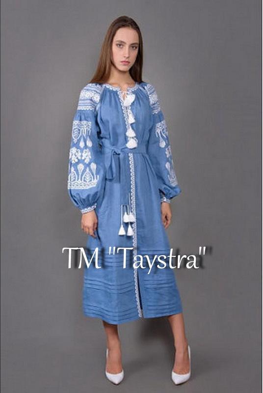 Vyshyvanka Dress Multi Color Embroidery Linen Embroidered dress Boho style boho chic, Bohemian