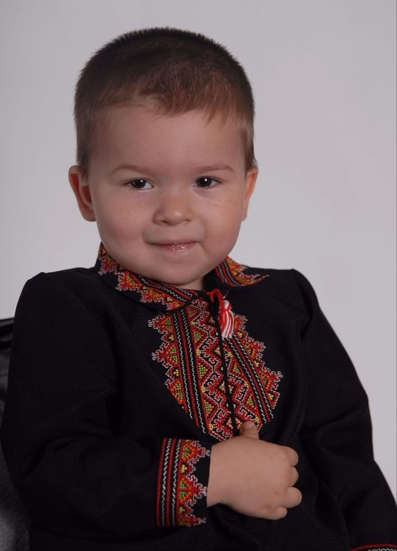 Embroidered shirt for boy, vyshyvanka baby, ethno style, Bohemian