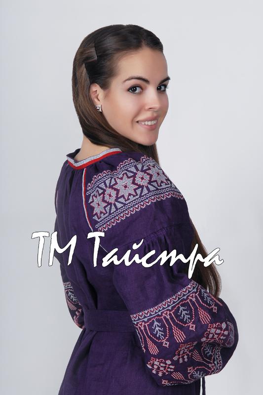 Dress Ukrainian embroidery, Boho, ethno, style boho chic, Embroidered dress, Multi Color Embroidery Linen