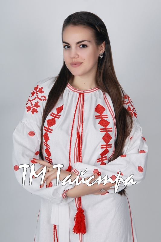 Vyshyvanka White dress Ukrainian embroidery, Boho, ethno, style boho chic, Embroidered dress, Multi Color Embroidery Linen