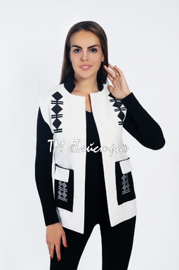 Women's vest with embroidery, ethnostyle, vest embroidered, embroidery on clothes