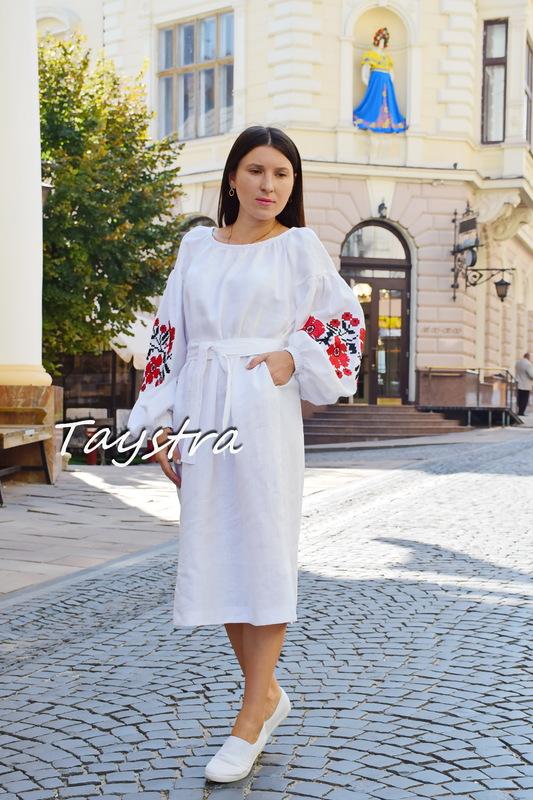 4b2ff82af2 Embroidered tunic dress linen vyshyvanka Ukrainian embroidered