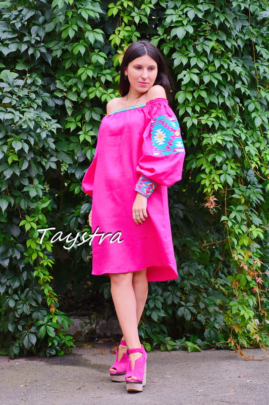 Tunic Embroidered dress vyshyvanka Ukrainian embroidered, Boho style, Bohemian, ethno