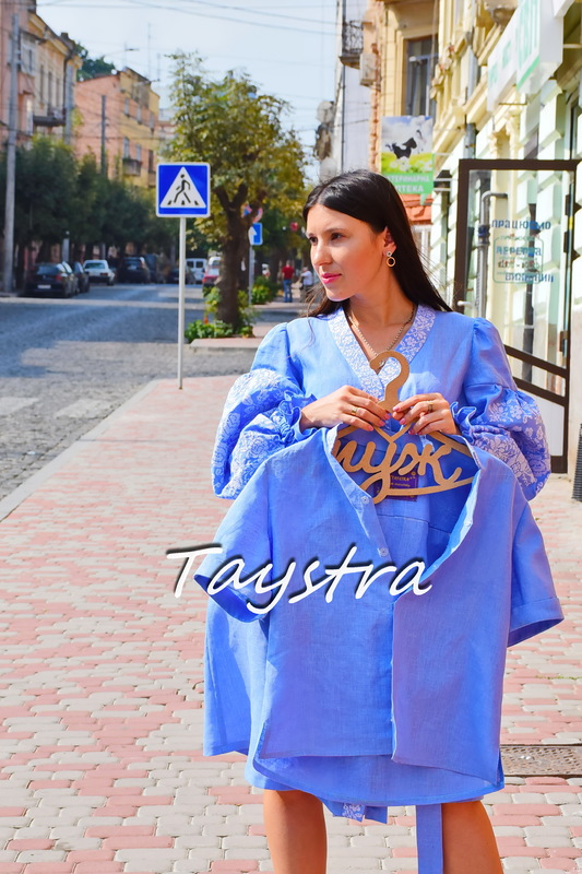 Embroidered clothes for two for the wedding, embroidered for family, embroidered linen, ethno style boho chic, Vyshyvanka Multi Color Embroidery Linen Ukrainian embroidery