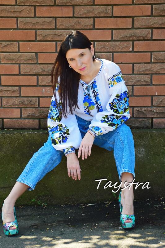 Blouse Vyshyvanka boho chic Embroidered clothes Vyshyvanka Linen Ukrainian embroider Embroidered White Blouse