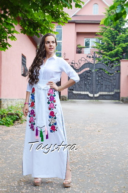 Skirt Embroidered Vyshyvanka Ukrainian embroidery boho ethno style