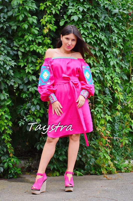 Tunic Embroidered dress vyshyvanka Ukrainian embroidered, Boho style, Bohemian, ethno