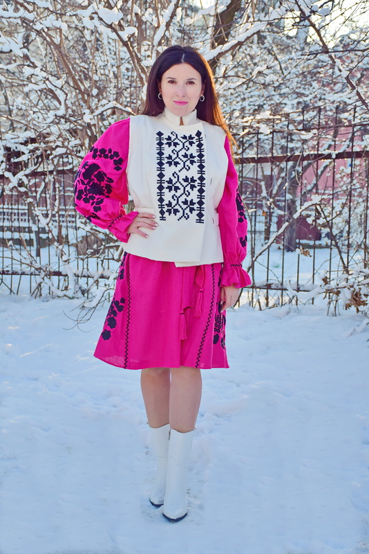 Vest Embroidered women's vest ethnostyle, embroidery on clothes