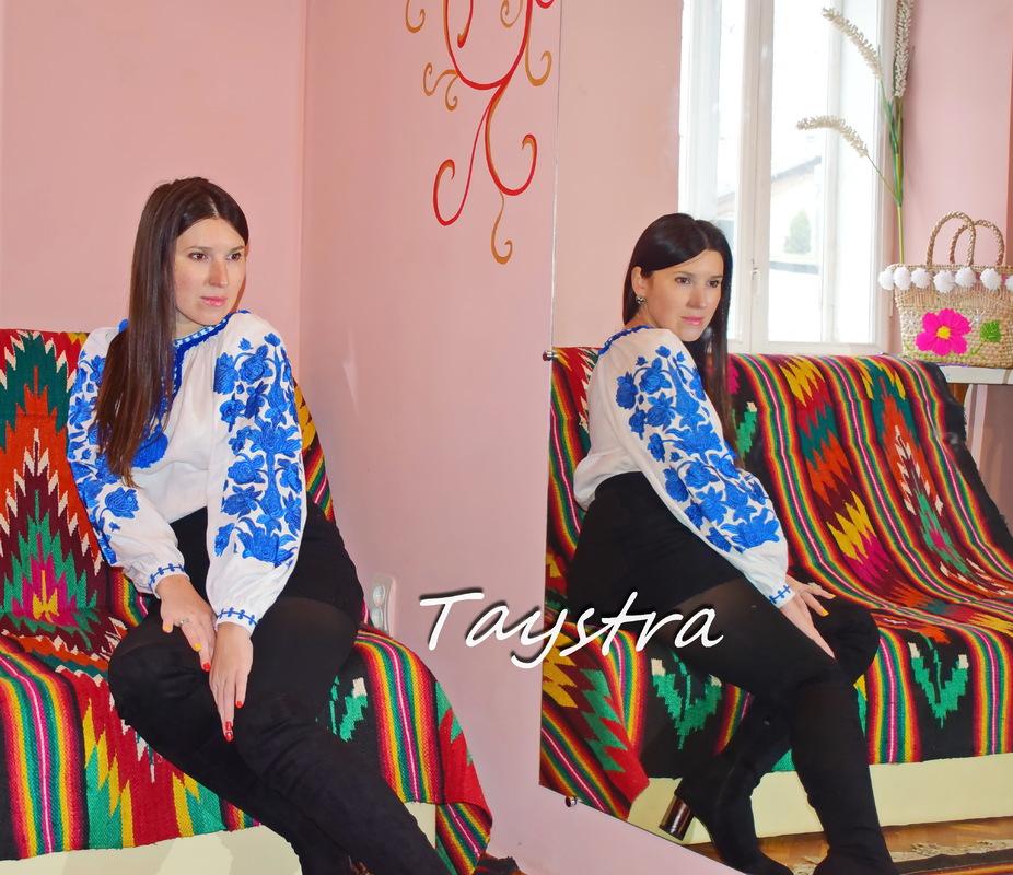 Embroidered Blouse Vyshyvanka White boho chic Embroidered clothes Vyshyvanka Linen Ukrainian Embroidered Blouse