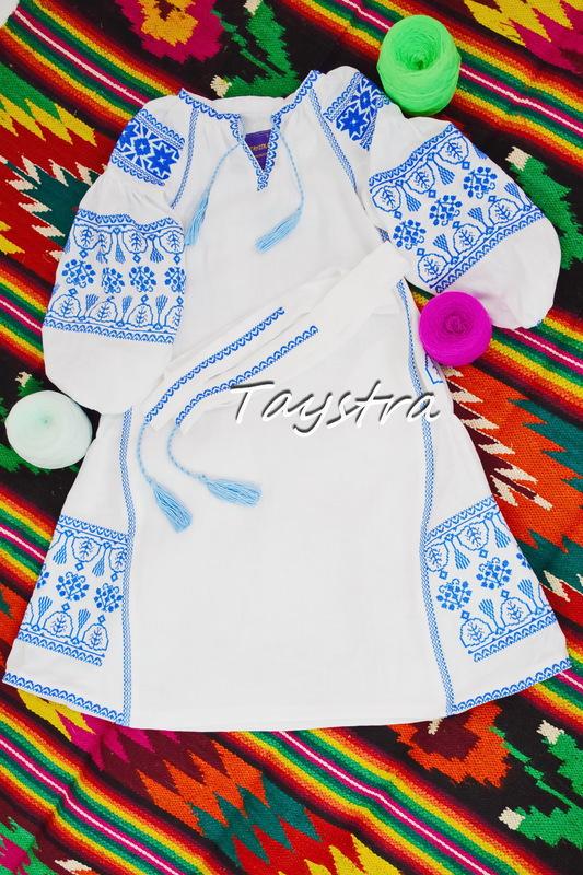 Dress Children Embroidered vyshyvanka boho ethno style, Bohemian, Dress for a girl, vyshyvanka baby