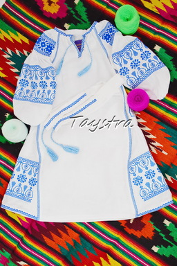 Dress Children Embroidered vyshyvanka boho ethno style, Bohemian, Dress for a girl, vyshyvanka baby