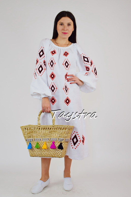 Bag decorated in ethnic style, Нandmade