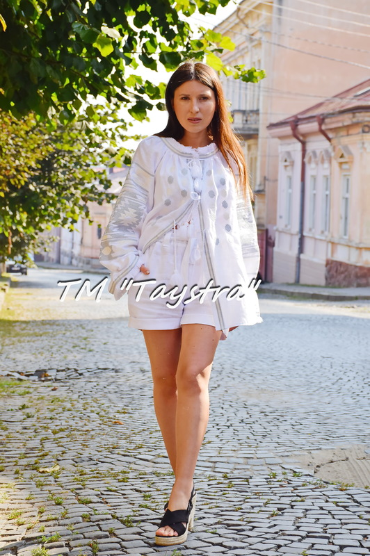 Embroidered Blouse Vyshyvanka White ethno style boho chic Embroidered clothes Vyshyvanka  Multi Color Embroidery Linen Ukrainian embroider Embroidered Blouse