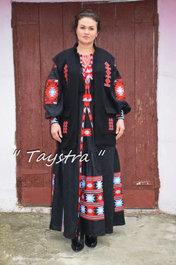 Vest Embroidered, embroidered women's vest, ethnostyle, , embroidery on clothes