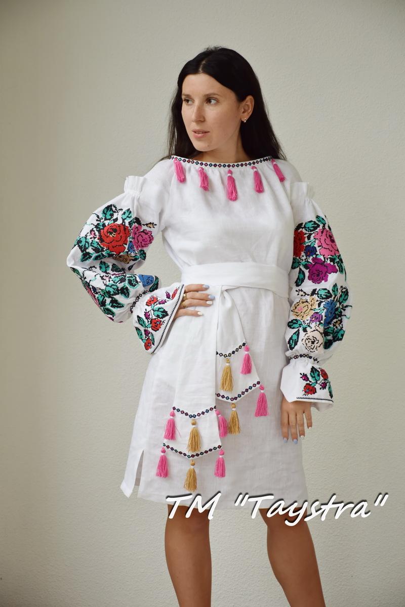 Vyshyvanka Boho skir Vyshyvanka Ukrainian skirt Mexican style Free ship!Midi Linen bohemian embroidered skirt with gometric pattern