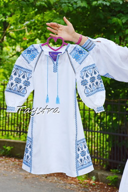 Children's Dress Embroidered vyshyvanka boho ethno style, Bohemian, Dress for a girl, vyshyvanka baby