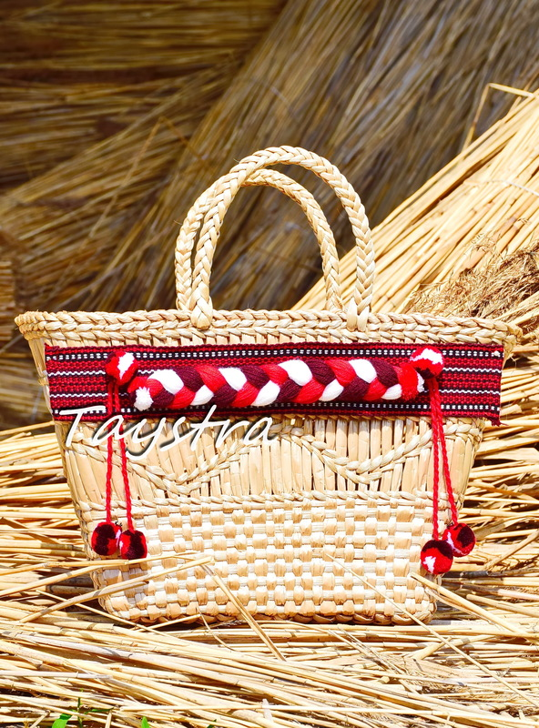Bag Handmade, decorated in ethnic style