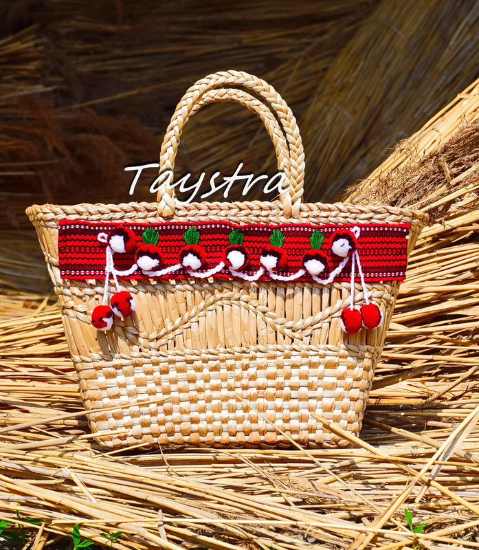 Women Bag Нandmade, decorated in ethnic style