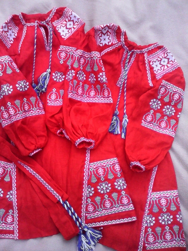 Embroidered Children's dress, vyshyvanka, boho, ethno style, Bohemian, Dress for a girl, vyshyvanka baby