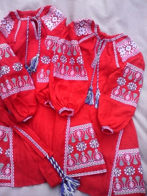 Embroidered Children's dress, vyshyvanka, boho, ethno style, Bohemian, Dress for a girl, vyshyvanka baby