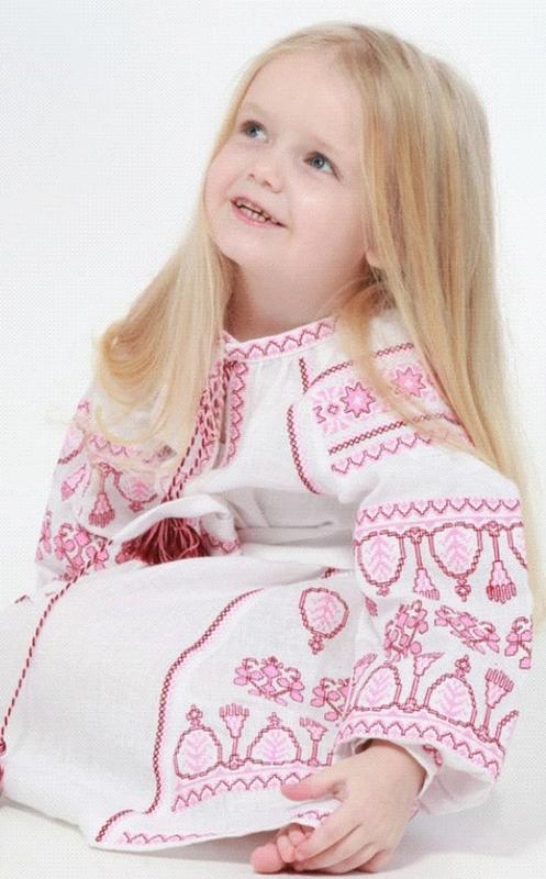 Children's dress embroidered, vyshyvanka, boho, ethno style, Bohemian, vishivanka baby, Dress for a girl