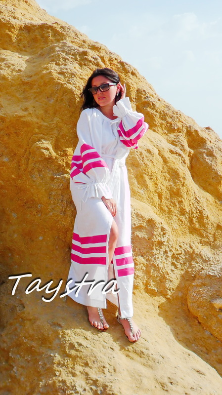 Beach Dress Boho ethno style boho chic, Dress Linen, bohemian attire