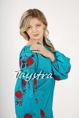 Tunic Ukrainian embroidery,Vyshyvanka Tunic Boho Mini Dress, ethno, style boho chic, Embroidered dress, Multi Color Embroidery Linen