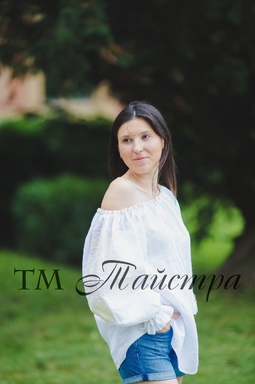 Vyshyvanka Blouse open shoulders,Blouse Ukrainian Embroidery,White Blouse Linen Boho style, Embroidered clothes Bohemian, ethno