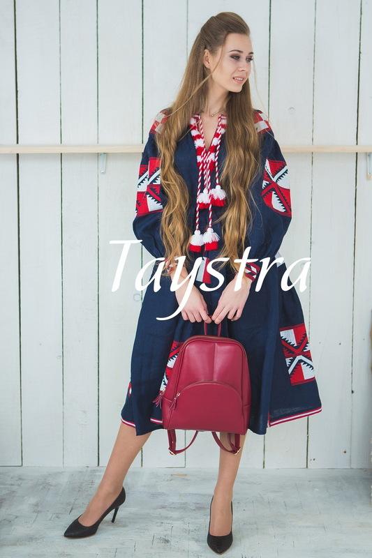 Embroidered dress Boho,4 wedges, ethno, style boho chic, Bohemian, Vyshyvanka Dress Multi Color Embroidery Linen, Ukrainian embroidery