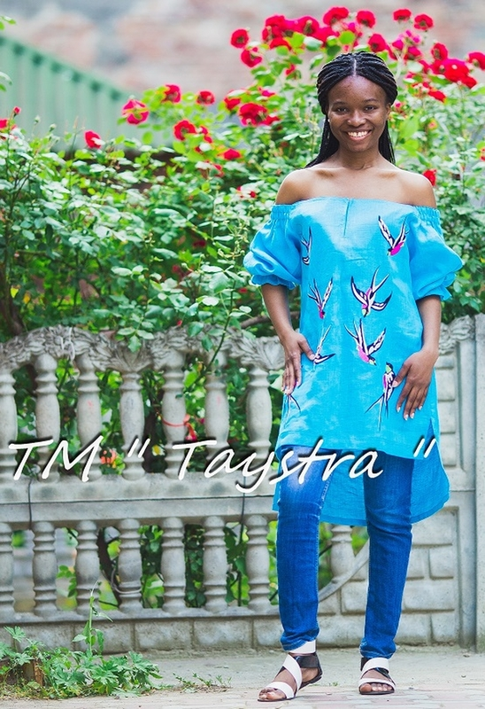 Vyshyvanka Birds Embroidery, Embroidered Blouse open shoulders,Ukrainian Embroidery Blouse,Turquoise Blouse Linen Boho style, Embroidered clothes Bohemian, ethno