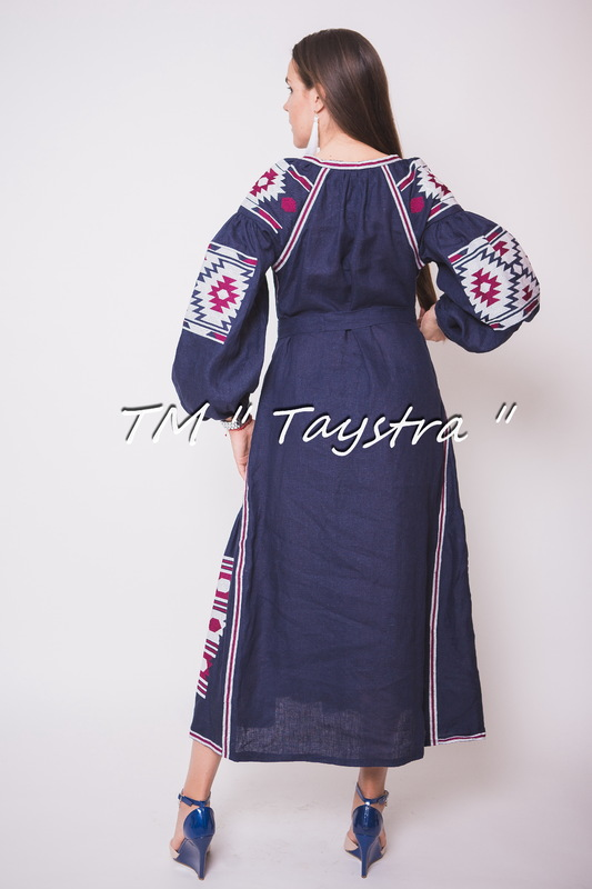 Embroidered Linen Dress, Bohemian, Vyshyvanka  Ukrainian embroidery, Boho, ethno, style boho chic